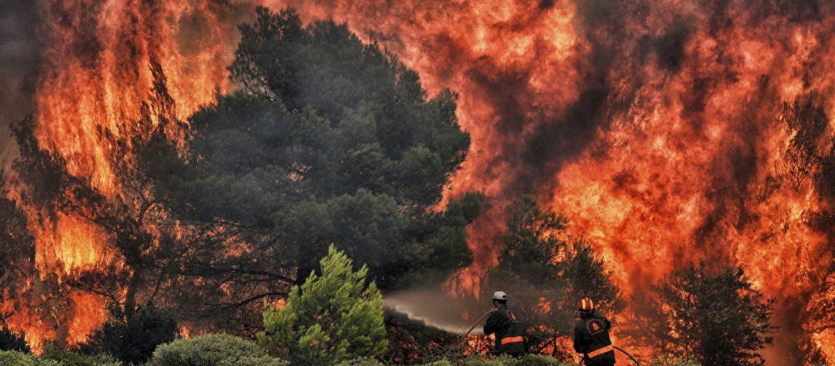 Ξέσπασαν πυρκαγιές σε Λέσβο- Ιωάννινα και Μέγαρα-Σε ύφεση η φωτιά στον Κιθαιρώνα -Πρόλαβαν εμπρηστές στην Ανθηδόνα(Upd)