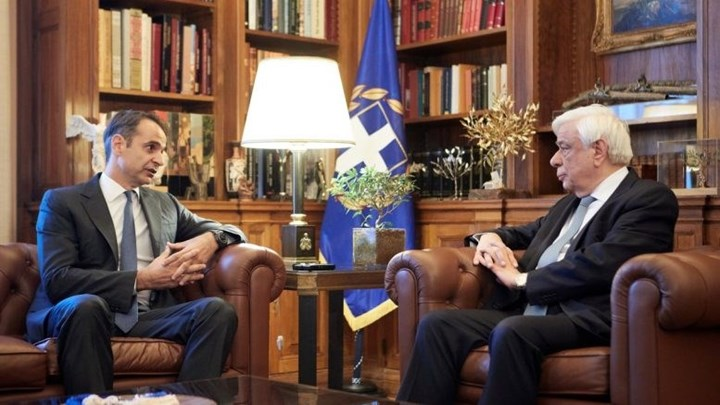 Εντολή σχηματισμού κυβέρνησης έλαβε ο Μητσοτάκης – Τηλεφωνική επικοινωνία με τον Παυλόπουλο