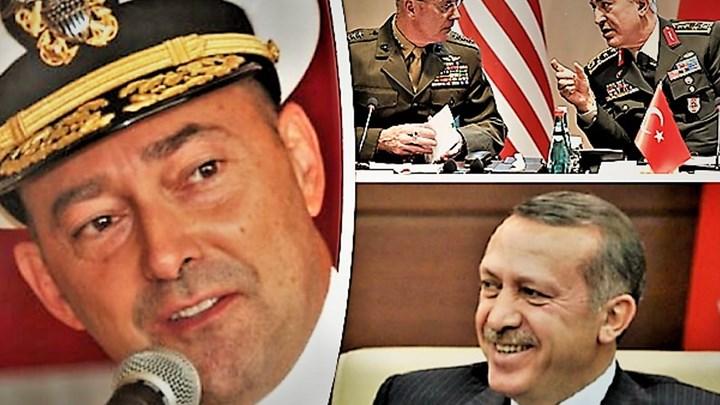 Έλληνας ναύαρχος συνήγορος του Ερντογάν
