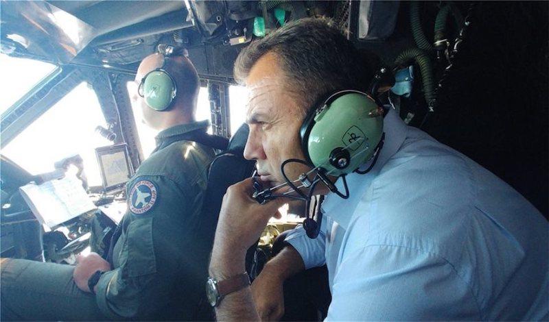 Παναγιωτόπουλος από Κύπρο: Αποφασισμένοι να προασπίσουμε τα εθνικά μας συμφέροντα