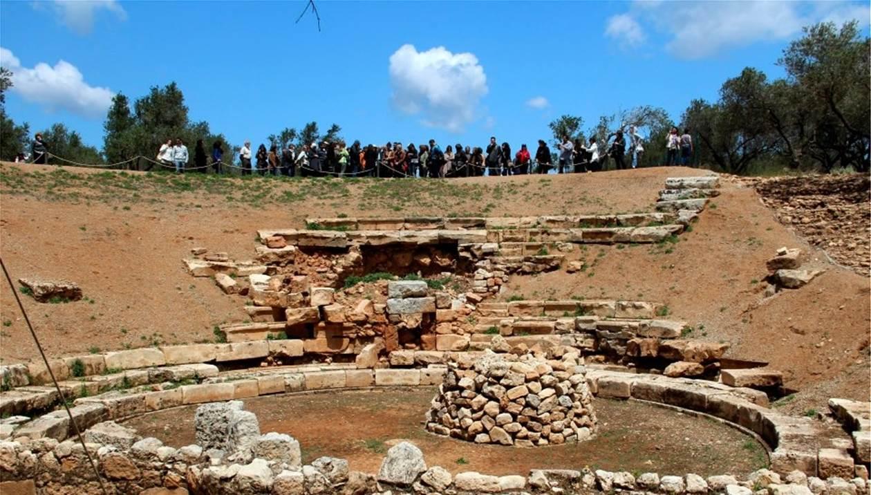 Γλυπτά της Αρτέμιδος και του Απόλλωνος «αποκάλυψε» η σκαπάνη στην αρχαία Απτέρα