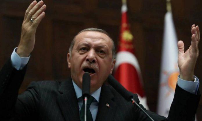 """Ερντογάν: """"Μικρή"""" χώρα η Ελλάδα, όργανο ξένων δυνάμεων"""