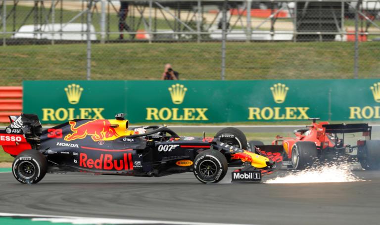 F1: Σφοδρή σύγκρουση Φέτελ με Φερστάπεν! «Καταστράφηκε» ο Γερμανός – video