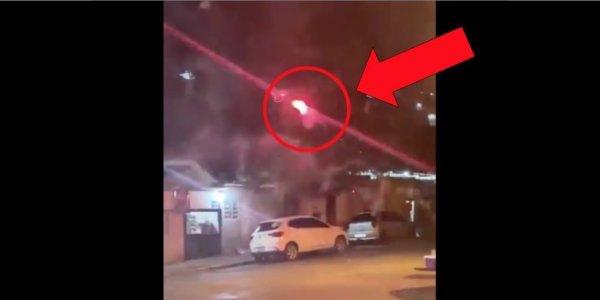 Απίστευτο! Τον ενόχλησε η μουσική και επιτέθηκε με drone που εκτόξευε πυροτεχνήματα (vid)