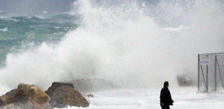 Η κακοκαιρία «κατηφορίζει» στην Κρήτη