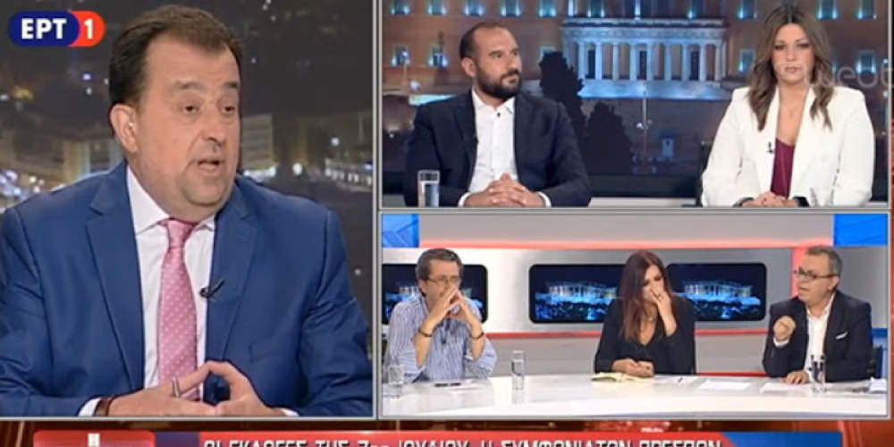 Χαμός στην ΕΡΤ: Έφυγε ο Κοττάκης από το πάνελ της εκπομπής του Κοτρώτσου