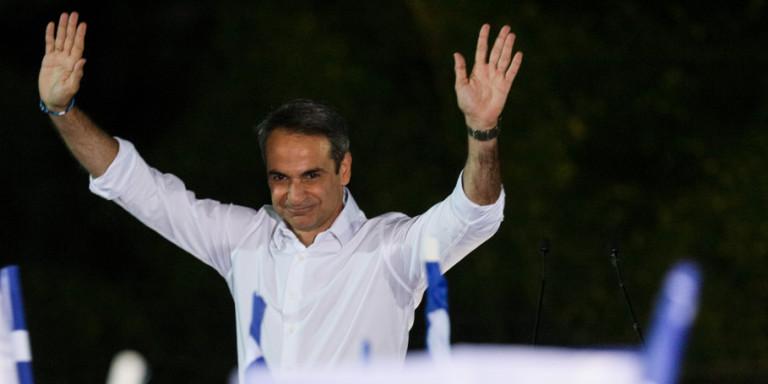 Αύριο στη 13:00 ορκίζεται πρωθυπουργός ο Κυριάκος Μητσοτάκης