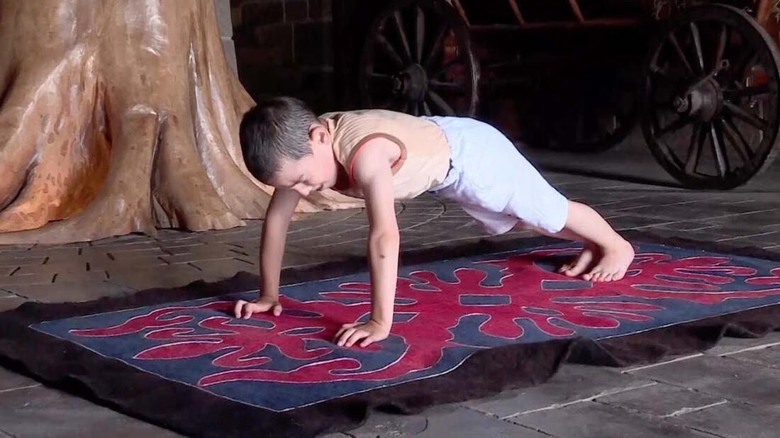 Απίστευτο: δεν θα πιστεύεις πόσα push-ups έκανε αυτός ο 6χρονος!
