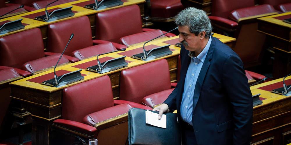 Κρύβεται ο Πολάκης πίσω από το νόμο περί ευθύνης υπουργών!