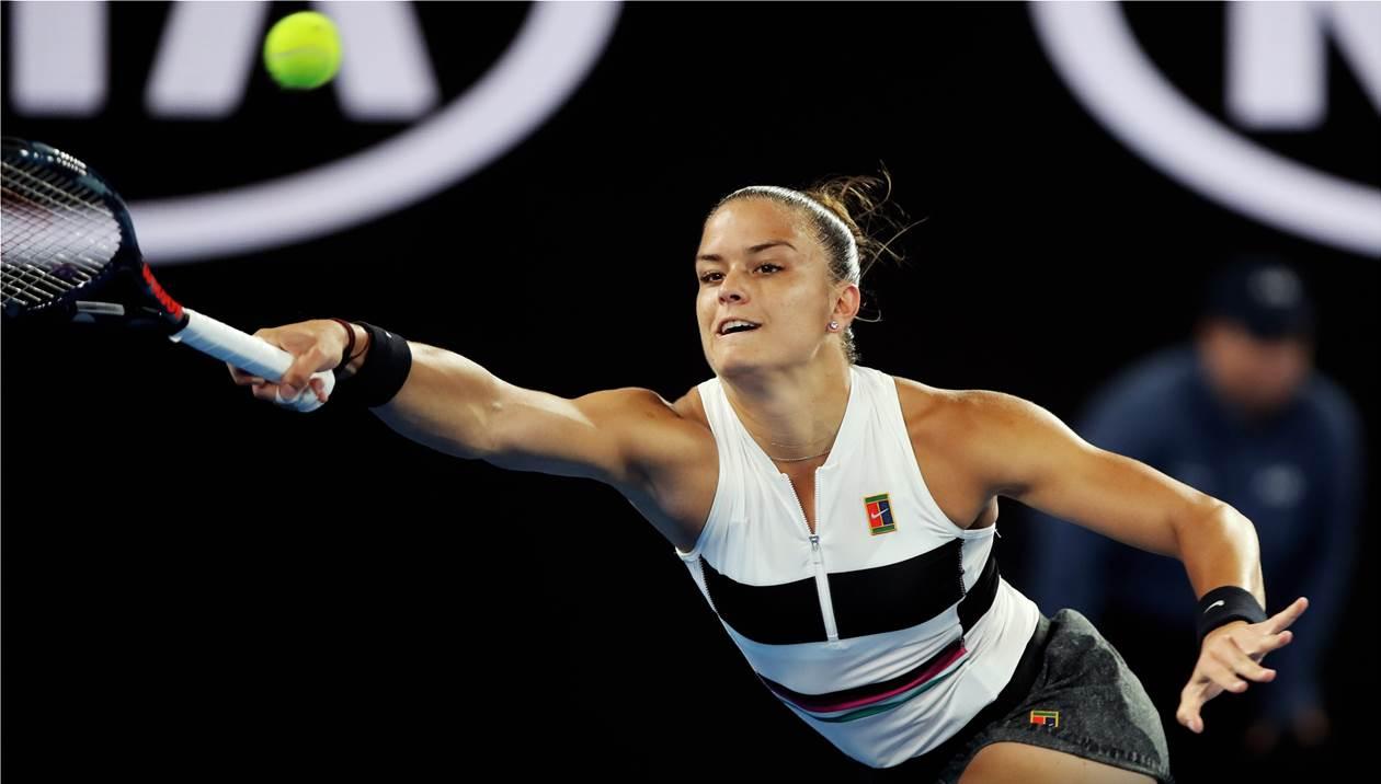 Άδοξο φινάλε στο Wimbledon για Σάκκαρη