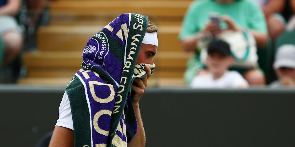 Κάζο Τσιτσιπα στην πρεμιέρα του Wimbledon – Αποκλείστηκε από το Νο 89 της παγκόσμιας κατάταξης