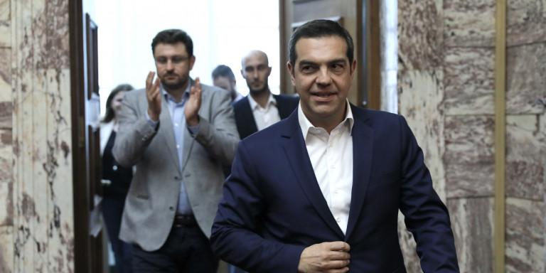 Τσίπρας: «Αντε μην τα πάρω» -Το περιστατικό με τον Τσακαλώτο στην ΚΟ του ΣΥΡΙΖΑ