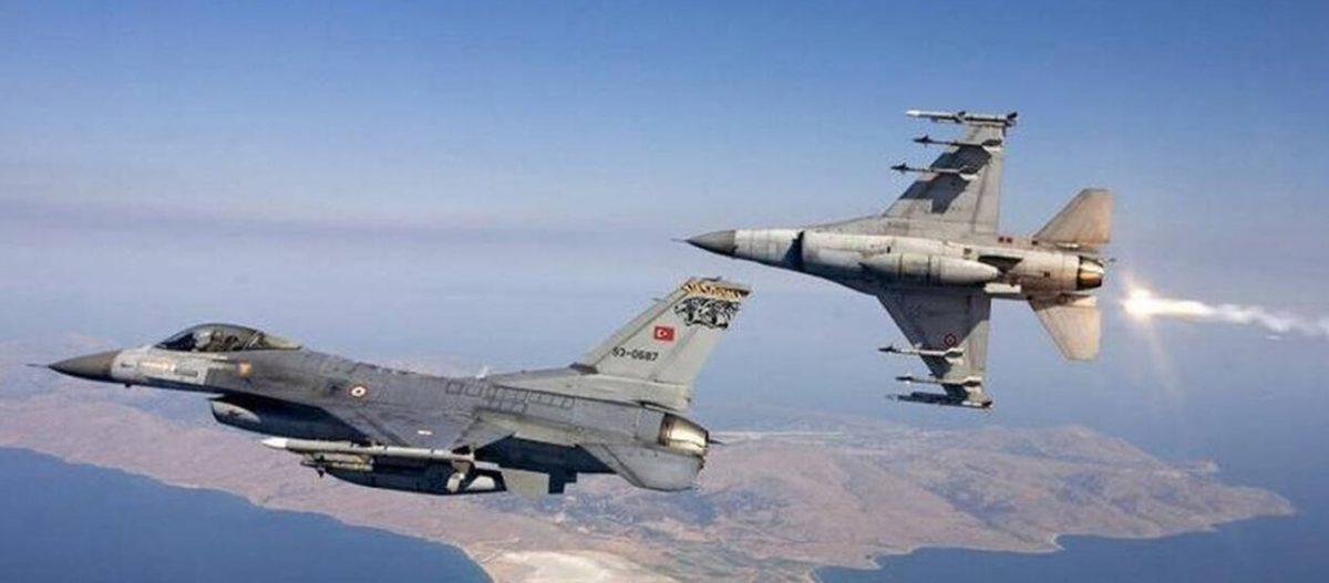 Τέσσερα τουρκικά μαχητικά επάνω από τρία ελληνικά νησιά – Μήνυμα Αγκυρας σε Κυριάκο