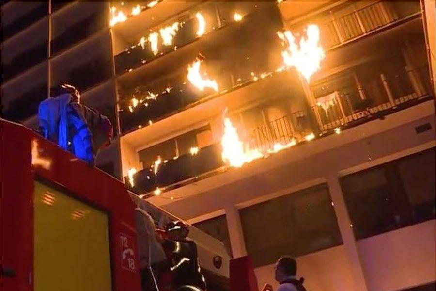 Πυρκαγιά σε νοσοκομείο στο Παρίσι – Ένας νεκρός (video)