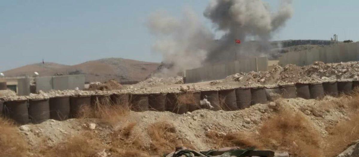 Μαχητικά της Συρίας βομβάρδισαν & την τουρκική βάση Νο 10 – Πέφτει περικυκλωμένη στα χέρια του συριακού Στρατού (βίντεο)