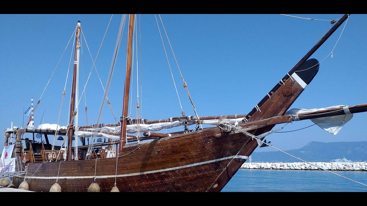 Al Mubaraki: Στην Κέρκυρα το εντυπωσιακό ξύλινο σκάφος από το Κατάρ