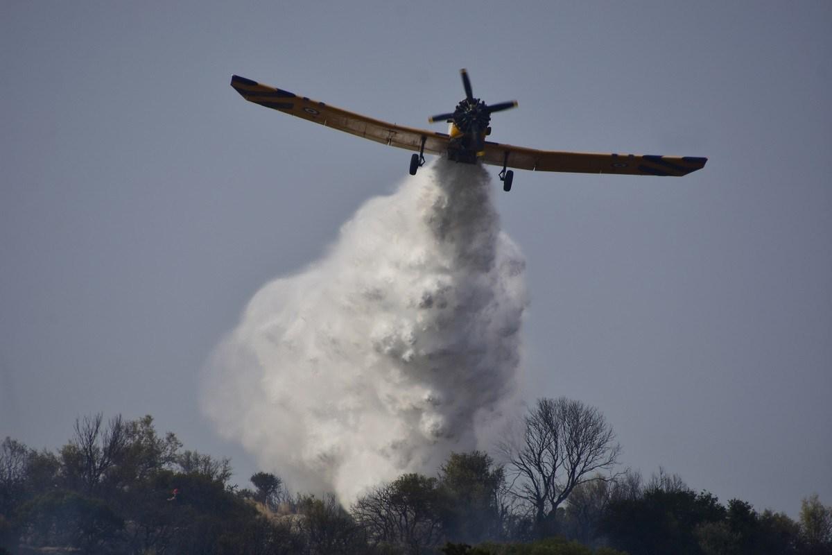 Επί ποδός η Πυροσβεστική στην Αργολίδα – Μεγάλη πυρκαγιά σε αγροτοδασική έκταση
