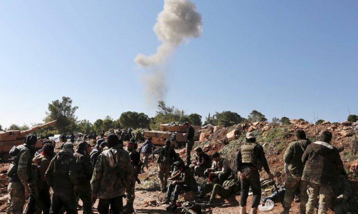 40 τζιχαντιστές νεκροί από πυραυλική επίθεση στη Συρία