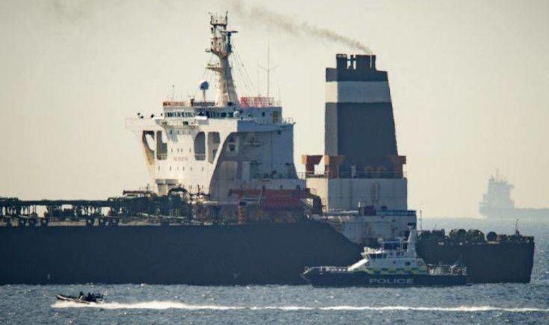 Το Γιβραλτάρ θα επιτρέψει τον απόπλου του ιρανικού δεξαμενόπλοιου Grace 1