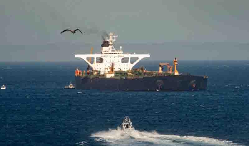 Oι ΗΠΑ έβαλαν στη μαύρη λίστα το ιρανικό τάνκερ– Κυρώσεις στον καπετάνιο του Adrian Darya 1
