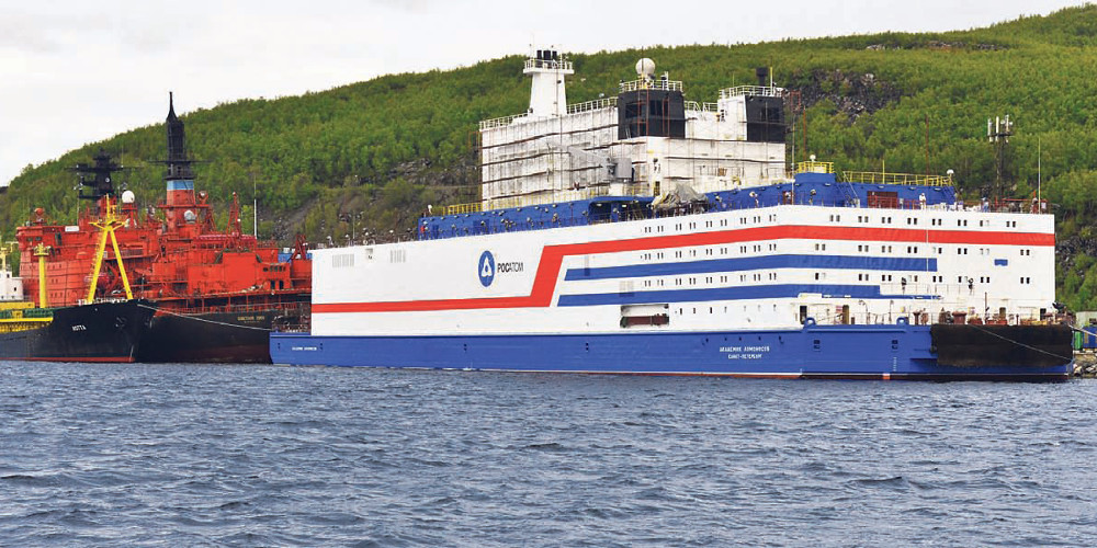 Ένα πλωτό… «Τσέρνομπιλ» στον Αρκτικό – Σφοδρές αντιδράσεις από περιβαλλοντολόγους