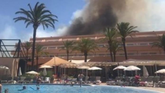 Πυρκαγιά ξέσπασε σε ξενοδοχείο στην Ίμπιζα