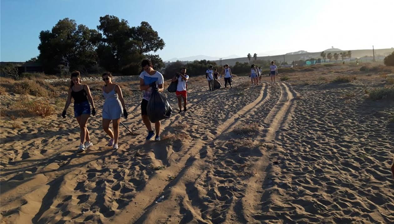 Ο Καρτερός… έλαμψε χάρη στους δεκάδες εθελοντές