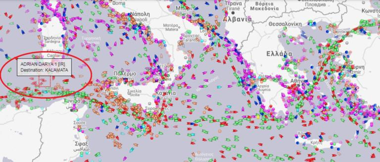 Δεξαμενόπλοιο: Φτάνει Ιταλία! Ανοιχτές απειλές ΗΠΑ σε όποιον βοηθήσει!