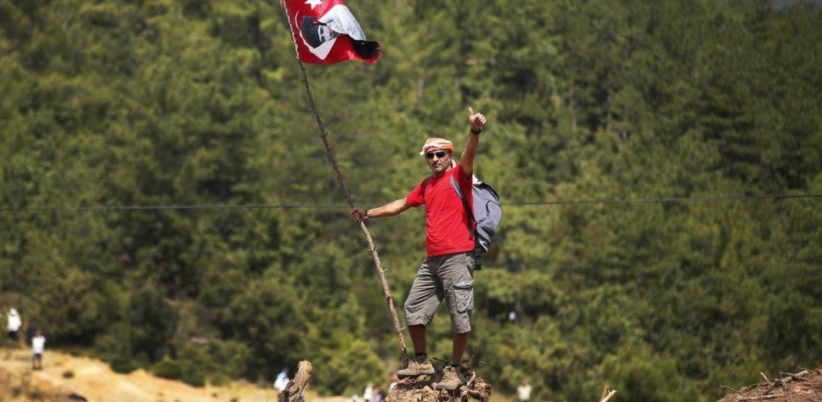Nέο «Γκεζί» για τον Ταγίπ Ερντογάν στα βουνά της ομηρικής Τροίας (pics)