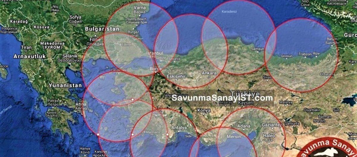 Αλλαγή στρατηγικών δεδομένων στο Αιγαίο: Σε υπηρεσία έθεσε «αθόρυβα» η Τουρκία τους πυραύλους cruise Atmaca Block-1