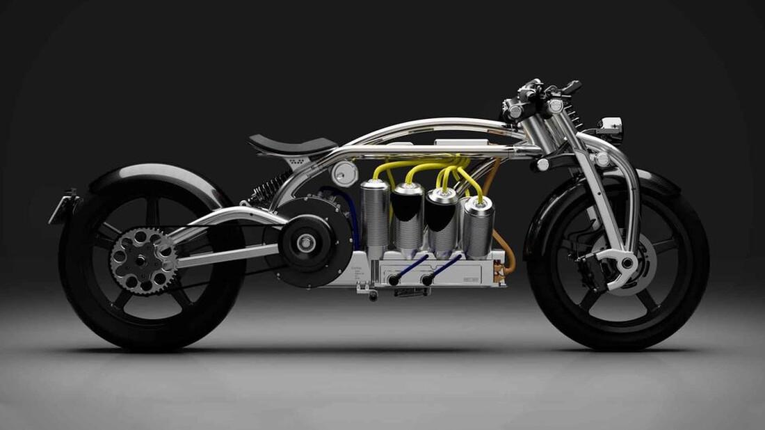 Οδηγική απόλαυση με την Curtiss Zeus Radial V8