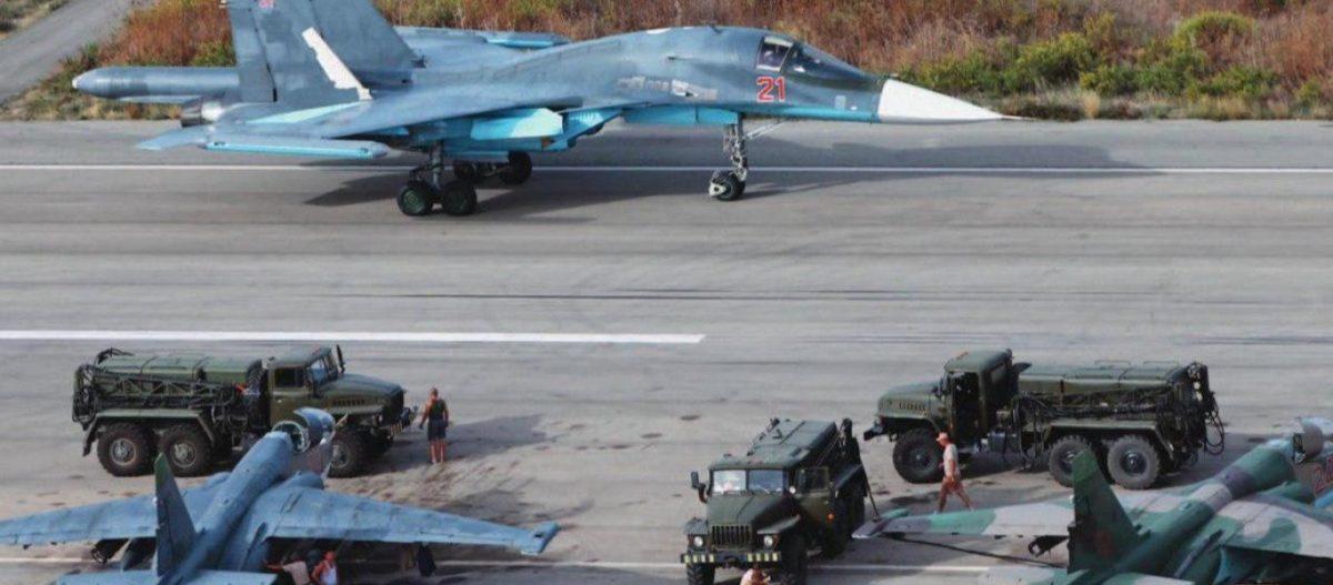 Συρία: «Καταιγίδα» drones & ρουκετών Grad έπληξε την ρωσική βάση Hmeimim – Επιχείρησαν να καταστρέψουν Su-35 & Su-30
