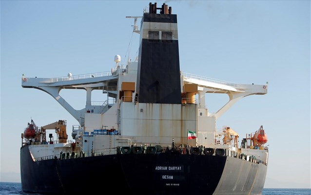 Reuters: Στην Καλαμάτα κατευθύνεται το ιρανικό δεξαμενόπλοιο