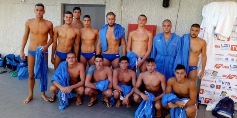 Πόλο: Τέταρτη στο Ευρωπαϊκό η Εθνική εφήβων μετά την ήττα 10-4 από την Ουγγαρία