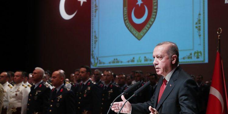 Ερντογάν: Δεν θα επιτρέψουμε εκβιασμούς στην Κύπρο – Θα ξεριζώσουμε τους τρομοκράτες στη Συρία