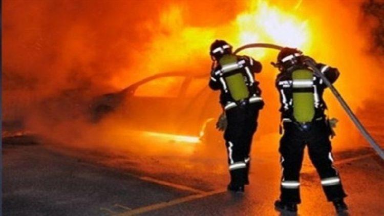 Μεταμεσονύχτια φωτιά σε αυτοκίνητο στο Ηράκλειο