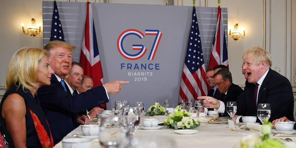 Σύνοδος G7: Οικονομία, εμπόριο και Αμαζόνιος στο επίκεντρο των συνομιλιών
