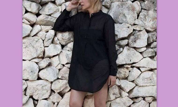 Ελληνίδα ηθοποιός ανεβάζει topless φωτογραφία και ρίχνει το instagram (photos)