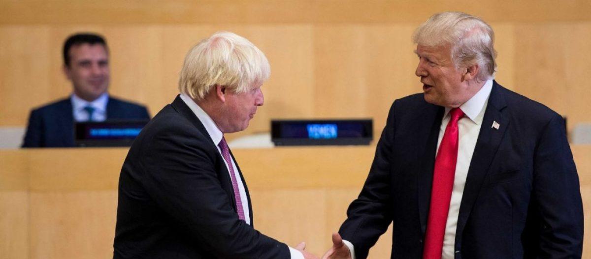 Ντ.Τραμπ σε Μπ.Τζόνσον: «Βγες από την ΕΕ και θα συνάψουμε εμπορική συμφωνία-μαμούθ»