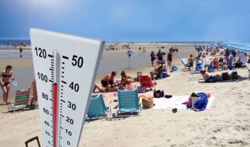 Καιρός για παραλία το Σάββατο -Ο υδράργυρος «σκαρφαλώνει» στους 39 βαθμούς