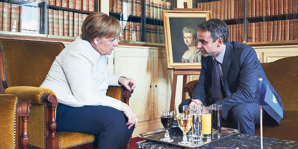 Η ανακοίνωση της καγκελαρίας για την επίσκεψη Μητσοτάκη στο Βερολίνο – Τι θα συζητήσει με την Μέρκελ