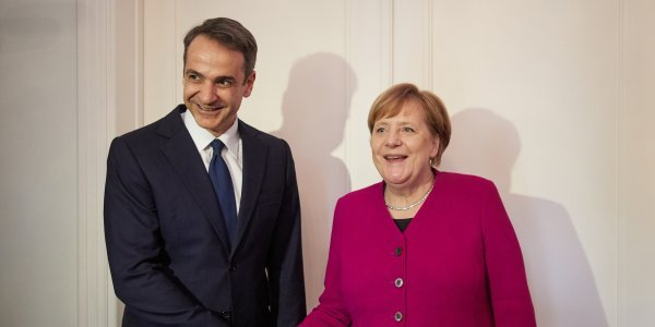 Ποιοι είναι οι στόχοι από το ραντεβού Μητσοτάκη-Μέρκελ στο Βερολίνο