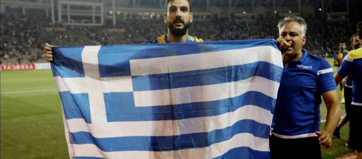 """Ποδοσφαιριστής του ΑΠΟΕΛ: «Γι'αυτό πανηγύρισα με τη γαλανόλευκη – Μου είπε """"Θυμάσαι τι σας έκαναν οι Τούρκοι""""»"""