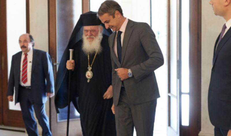 Μητσοτάκης-Ιερώνυμος: Συμφώνησαν να συνεχίσουν την τακτική επαφή τους