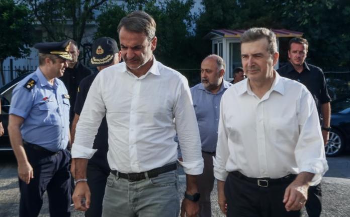 Ενημερώθηκε για τις φωτιές ο Μητσοτάκης – Τι ζήτησε από τους πολίτες