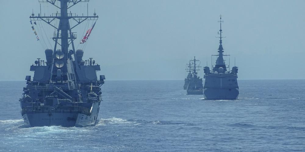 Κοινά ναυτικά γυμνάσια Ελλάδας-Ισραήλ-ΗΠΑ-Γαλλίας στη Νοτιοανατολική Μεσόγειο