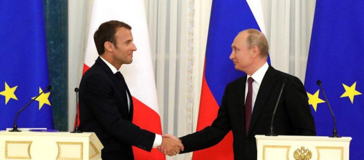 Ο Μακρόν σόκαρε τις ΗΠΑ: «Η Ρωσία είναι βαθιά ευρωπαϊκή – Ευρώπη από Λισαβώνα μέχρι Βλαδιβοστόκ» – Τί είπε ο Β.Πούτιν