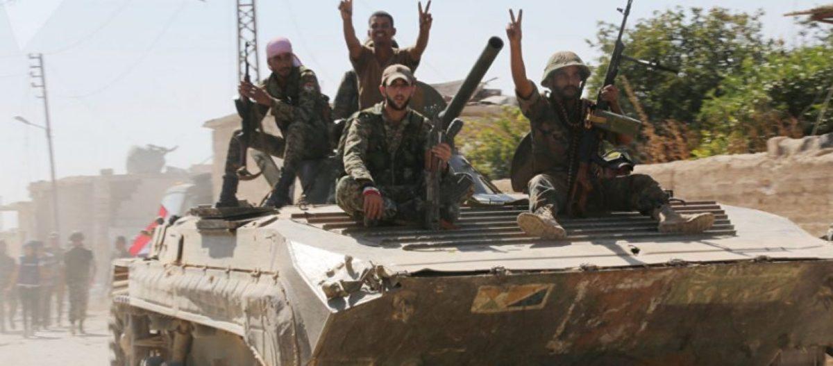 Λίγα μέτρα από το τουρκικό παρατηρητήριο στη Μορέκ βρίσκεται ο συριακός Στρατός – Σύροι στρατιώτες βγάζουν selfie!