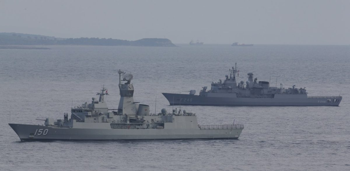 Κομάντος των Ιμίων στην ηγεσία του στόλου στην ανατολική Μεσόγειο