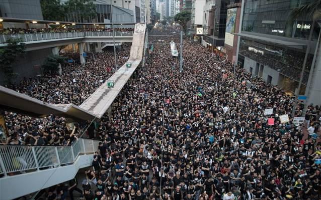 Ένταση και σήμερα στο Χονγκ Κονγκ – Σε κρίσιμη καμπή το κίνημα διαμαρτυρίας